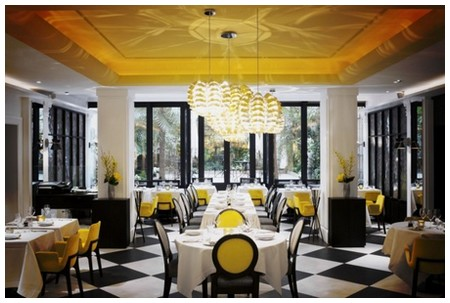 best gourmet restaurants luxury gastronomic restaurants michelin star paris blossom sofitel paris le faubourg
