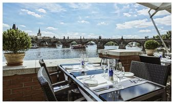 kampa park best restaurants in prague