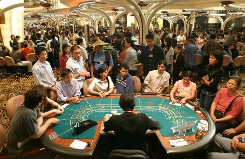 macau casino main gambling room china