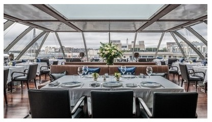 best gourmet luxury michelin star restaurants paris oiseau blanc peninsula sidney redel gagnaire