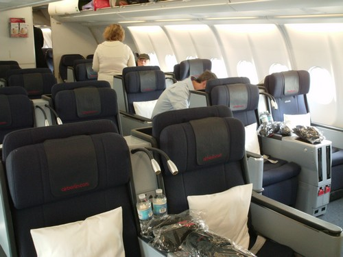 airberlin business class cabin